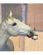 Caramelos y juguetes para caballo